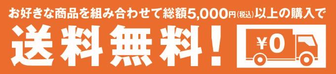 5000円以上無料プラン